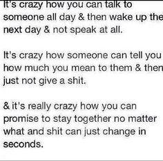 yeah .. Crazy.