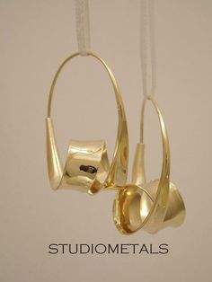Gorgeous Gold Hoop Earrings Large Gold Hoops 14K Gold by Studiometals, $1195.00