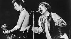 Sex Pistols on stage
