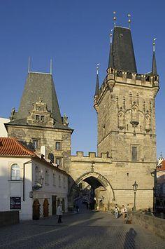 Praha • Malostranské mostecké věže • Královská cesta