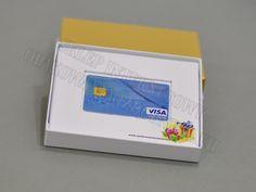 Pudełko na kartę podarunkową lub voucher