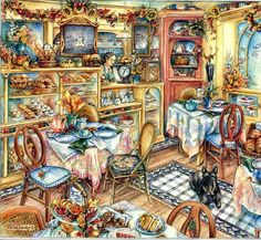 levkonoe: Kim Jacobs. Маленькое кафе
