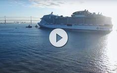 El nuevo barco de MSC Cruceros ha superado las pruebas de mar. No te pierdas este Vídeo del MSC Meraviglia a máxima velocidad !!!!