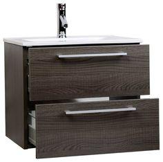 "ConceptBaths Caen 24"" Wall-Mounted Single Bathroom Vanity RS-DM600-OAK contemporary-bathroom-vanities-and-sink-consoles"