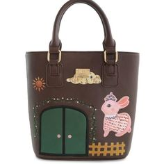 32.09$  Buy now - http://alieyf.shopchina.info/go.php?t=32775963395 -  2016 Vintage High Quality Rabbit Embroidery Animal Print Small Leather PU Women's Handbag Messenger Crossbody Bags Totes Bucket 32.09$ #magazineonline