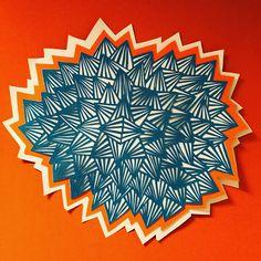 Boom! Handmade paper cut @arte.minerva
