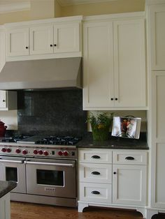 Choosing Cabinet Door Styles: Shaker and Inset or Overlay Doors * View Along the Way * Simple Kitchen Cabinets, Shaker Style Cabinets, White Shaker Cabinets, Shaker Style Doors, Kitchen Cabinet Pulls, Shaker Kitchen, Kitchen Doors, Kitchen Ideas, Cupboards