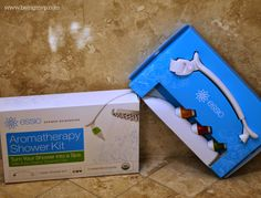 being MVP: ESSIO Aromatherapy Shower Kit + #Giveaway