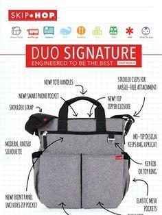 Skip Hop Signature Duo Diaper Bag
