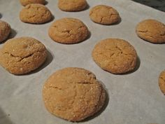 Spiced Ginger Mounds