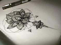 Image result for buddhist lotus flower drawing