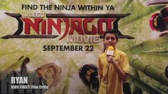 Interviews at The LEGO Ninjago Movie conducted by KIDS FIRST! Film Critic  Ryan R. #KIDSFIRST! #TheLEGONinjagoMovie Ryan Kids, Ryan R, Lego Ninjago Movie, Film Review, Critic, Interview, Movies, 2016 Movies, Cinema