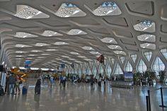 Aeropuerto Marrakech Menara en Marruecos