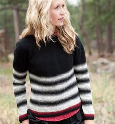 Lucinda Guy Northern Knits - Hulda pullover.
