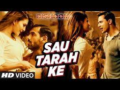 """T-Series present Bollywood Movie Dishoom Song """"Sau Tarah Ke"""" movie staring John Abraham, Varun Dhawan, Jacqueline Fernandez, Akshay Khanna in leading roles, ..."""