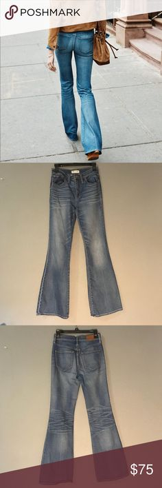 c8e8cc545b7ce Madewell Flea Market Flare jeans The perfect jeans for instant lengthening.  These are in excellent