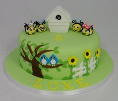 The Hive Themed Children's Birthday Cake - Cake by Fancy Cakes by Linda