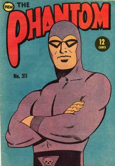 It is perhaps because the Phantom made his debut in newspaper strips, rather than comic books, that he is rarely recognised as a predecessor of Superman and Batman.