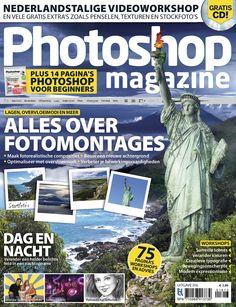 Leer een collage van je vakantiefoto's te maken met Photoshop Magazine! eMagazine verkrijgbaar via de BrunaTablisto app.