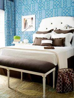 Bedroom Color Ideas: Blue Bedrooms!