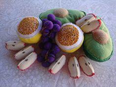abacate, maracujá, uva, maçã