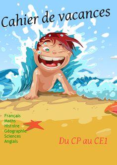 Cahiers de vacances gratuits niveau maternelle et primaire à télécharger,  proposés par les Editions Rosace. kidsrevue@gmail.com
