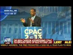 Does he sound curiously like Ronald Reagon, huh?   Dr Ben Carson Addressing CPAC - Outspoken Critic Of Health Care Law (Obamacare) - Part 2