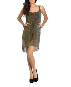Pleated High Low Dress (Black). Wet Seal. $29.50