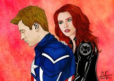 Steve x Natasha by Stone-Fever