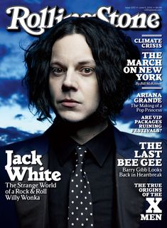 Jack White on the June 5, 2014 cover