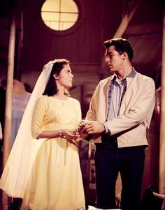 Natalie Wood - dress shop scene in West Side Story