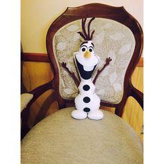 Olaf ❄️❤️ hecho a mano #olaf #frozen #manualidades #pañolensi