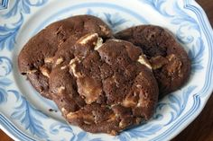 Chocolate Espresso White Chocolate Chunk Cookies