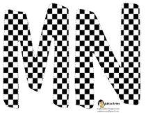 Oh my Alfabetos!: Alfabeto tablero de ajedrez.