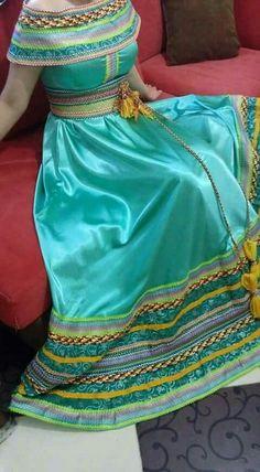 algerian dress (kabyle)اللباس القبائلي الامازيغي الجزائري