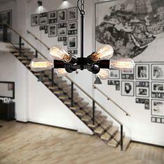MAX:60W+Plafond+Lichten+&+hangers+,++Retro+Goud+Kenmerk+for+Ministijl+MetaalWoonkamer+/+Slaapkamer+/+Eetkamer+/+Studeerkamer/Kantoor+/+–+EUR+€+87.21