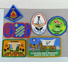 Lot of 6 Cub And Boy Scout Badges Patches Camps Challenge Events Cub Scout Badges, Cub Scouts, Girl Scouts, Vintage Boys, Vintage Children, Cub Scout Patches, Star Reading, Scout Camping, Merit Badge