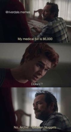 Riverdale Memes And Quotes!  - No Archie. Chicken Nuggest.