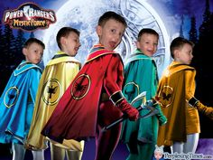 Power Rangers costume ideas