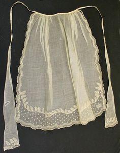 Victorian Aprons, Aprons Vintage, Stephane Rolland, Yohji Yamamoto, 1850s Fashion, Vintage Outfits, Vintage Fashion, Sewing Aprons, Apron Designs