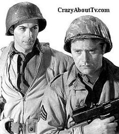 Combat TV Show Cast Members....I just loved these men in uniform as a kid...