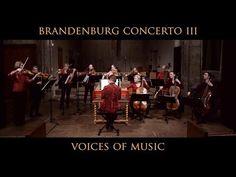 Bach - Brandenburg Concerto No. 3, Allegro, Original Instruments; Voices of Music BWV 1048 - YouTube
