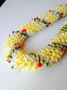 Ginger11 (Ribbon Lei) designed by Tracy Harada Ui'mauamau