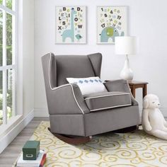 rocking chair baby's room - Google Search