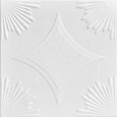 "Decorative Ceiling Tiles, Inc. Store - Sunset Boulevard - Styrofoam Ceiling Tile - 20""x20"" -"