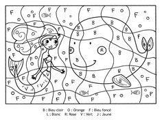 Coloriage Magique Alphabet.46 Meilleures Images Du Tableau Coloriages Magiques Coloring Pages