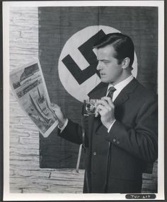 "ROBERT GOULET (from the 1966 TV series ""Blue Light"", where he played a journalist working undercover in Nazi Germany on behalf of the Allies. The series ran 17 episodes between January-May 1966.)"