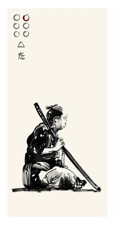 Seven Samuraiby Greg Ruth | XombieDIRGE