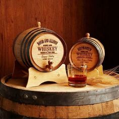 Personalized Whiskey Barrel | 40th Anniversary Gifts For Couples, Him, Her