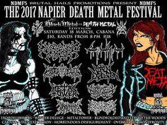 Long Live The Loud 666: THE 2017 NAPIER DEATH METAL FESTIVAL WITH:EXORDIUM...